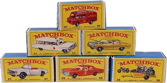 Matchbox Series Boxes
