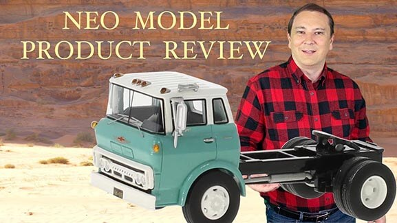 1:64th Scale 1960 CHEVROLET STEEL Tilt Cab Single Axle Tractor by Neo Scale Models – Product Review