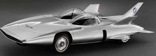 "1959 XP-73 ""GM Firebird III Turbine Concept Car"""