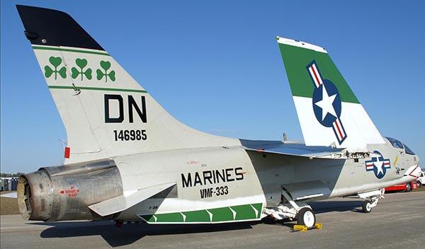 VMF-333 F-8 Crusader Airshow