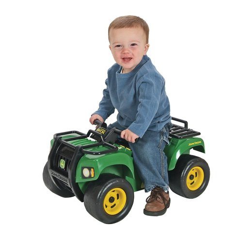 John Deere Sit and Scoot big farm toy