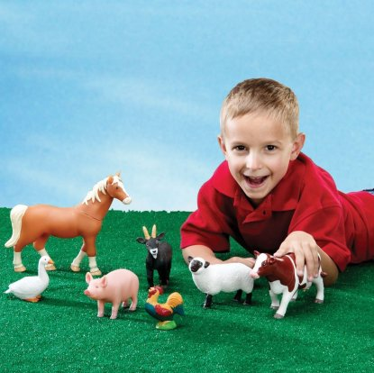 Jumbo Farm Animals