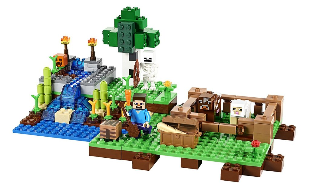 Lego Minecraft Farm Toy