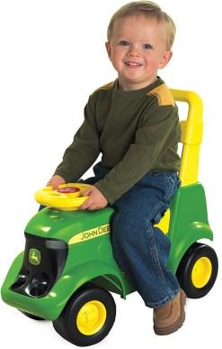 Sit N Scoot John deere toy tractor