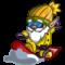 farmville snowboard gnome