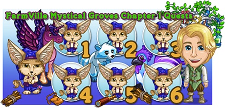 FarmVille Mystical Groves Chapter 1 Quests
