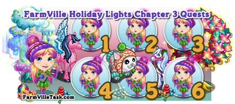 FarmVille Holiday Lights Chapter 3 Quests
