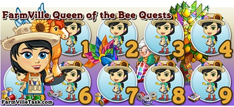 FarmVille Queen of the Bee Quests