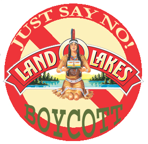 Hay Now -- It's Boycott Time: Land O'Lakes, This Means You!