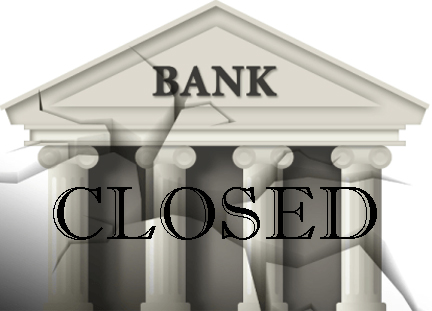 PIC 1 Bank Closed