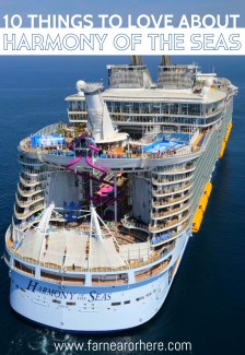 Harmony of the Seas, the world's biggest cruise ship