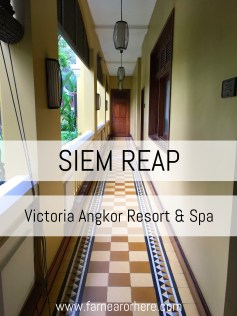 Seeking a hotel in Siem Reap? The Victoria Angkor Resort & Spa is a luxury colonial-style hotel in the centre of this Cambodian city that makes a great place to explore Angkor Wat.