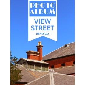 Photos from Bendigo's golden avenue View Street...