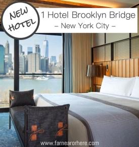 1 Hotel Brooklyn Bridge, New York's newest boutique hotel