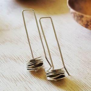 Sterling Silver Stack Earrings