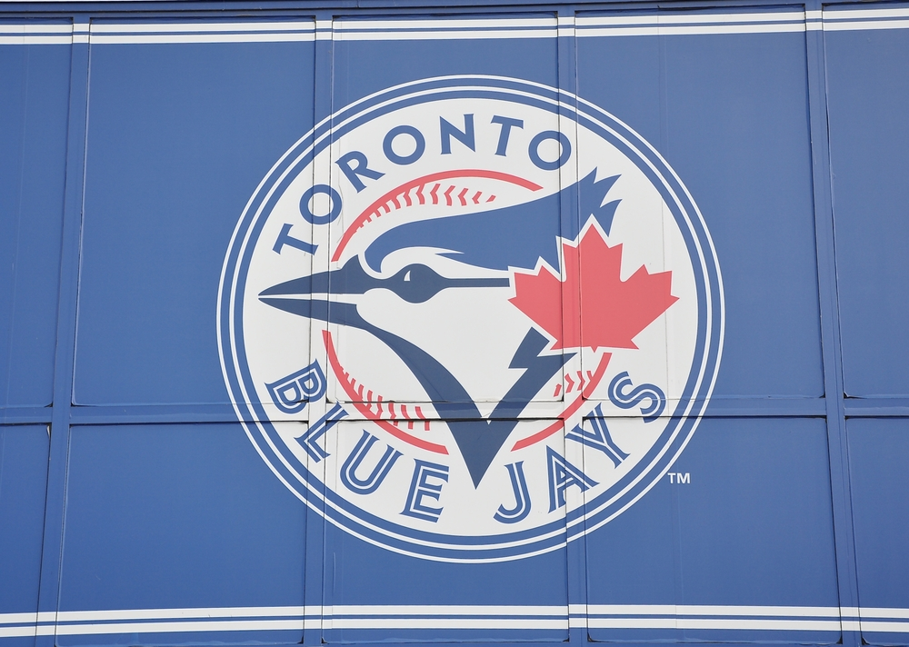 Sign of Toronto Blue Jays