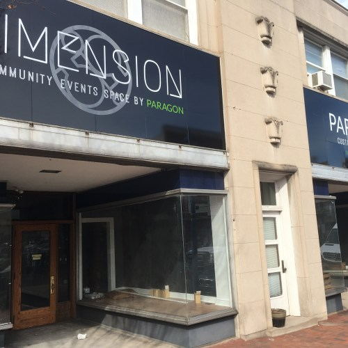 Dimensions Outdoor/Exterior Digitally Printed Sign