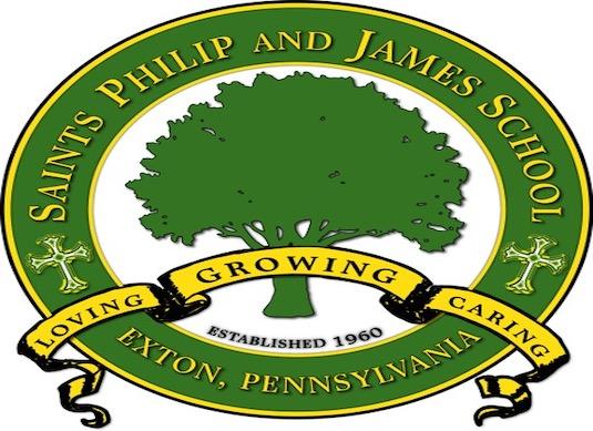 Saints Philip & James Custom Logo Brand Creation