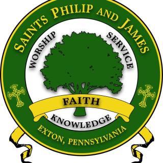 Saints Philip and James custom logo