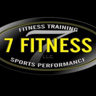 7 Fitness custom logo Brand Creation
