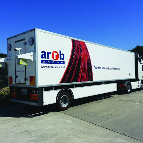 ARRB Group Partial Truck/ Trailer Vehicle Graphics