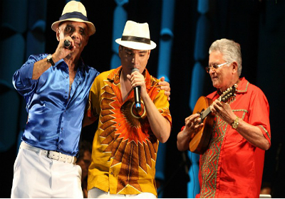 Toninho Nascimento, Arthur Espíndola e Adamor do Bandolim
