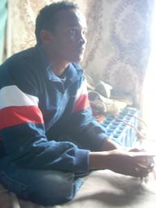 Ilyas, Elias, 21 anos, etíope, estudante de direito