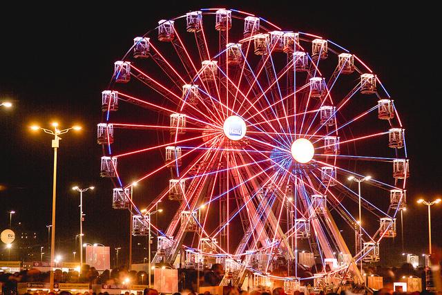 Roda gigante lembrava  os tempos do Playcenter - Foto David Argentino - I Hate Flash
