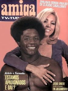 Toni Tornado e Arlete Salles, 1970