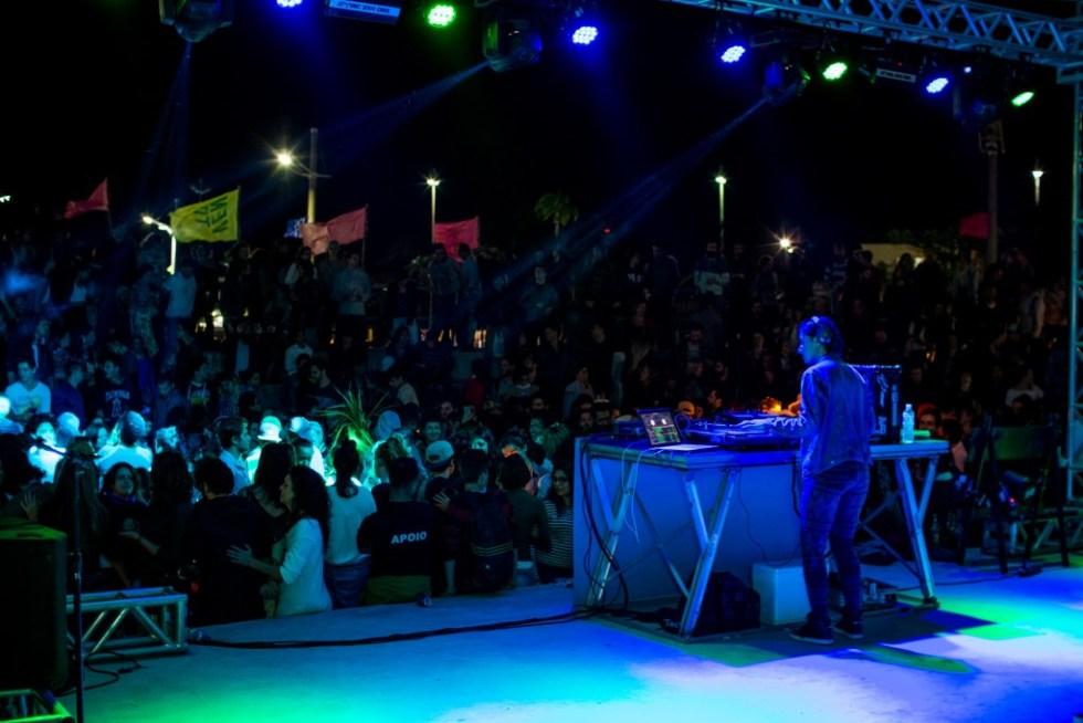 A DJ Flavya toca na Oca do Vento Festival 2017 - Foto divulgação