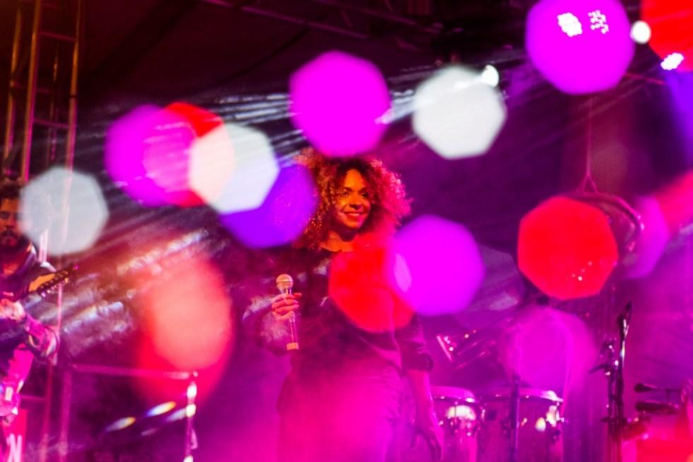 Anelis Assumpção canta no Vento Festival 2017 - Foto divulgação