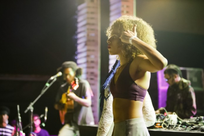 A rapper trans brasiliense Rosa Luz - foto Rômulo Juracy/Favela Sounds