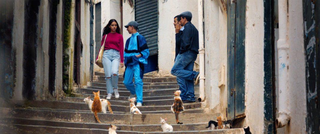 Cena de Papicha, filme argelino