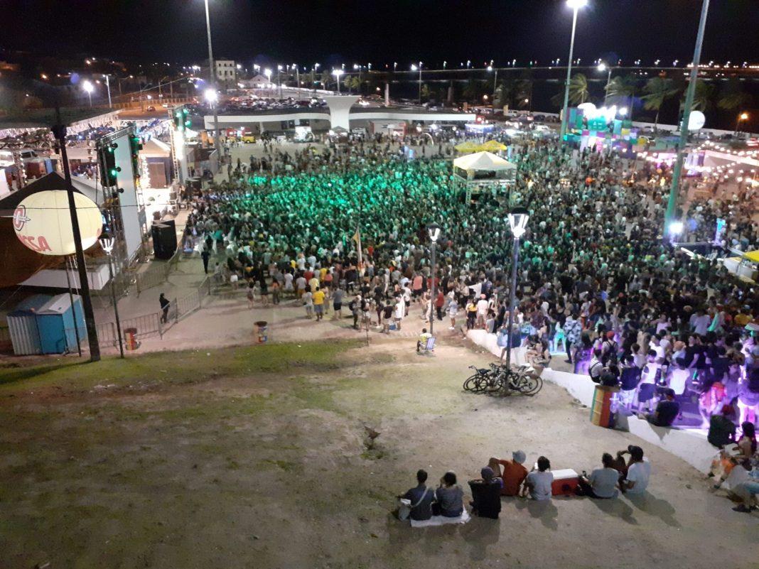 Festivas BR135 na Praça Maria Aragão, em São Luís