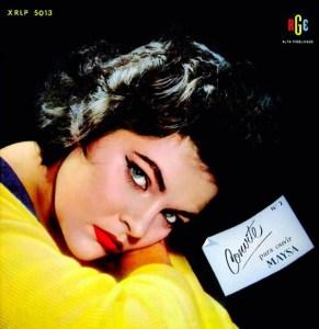"""Maysa, """"Convite para Ouvir Maysa Nº 2"""" (1958)"""