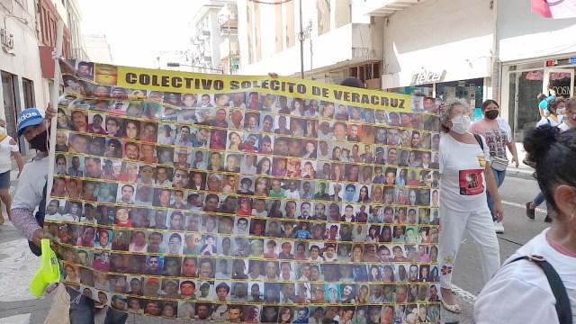 Desaparecidos realizaron movilizaciones en Veracruz