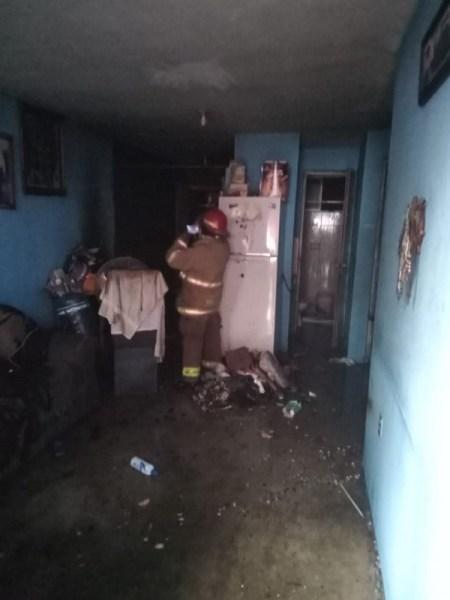 Incendio en vivienda de Altamira