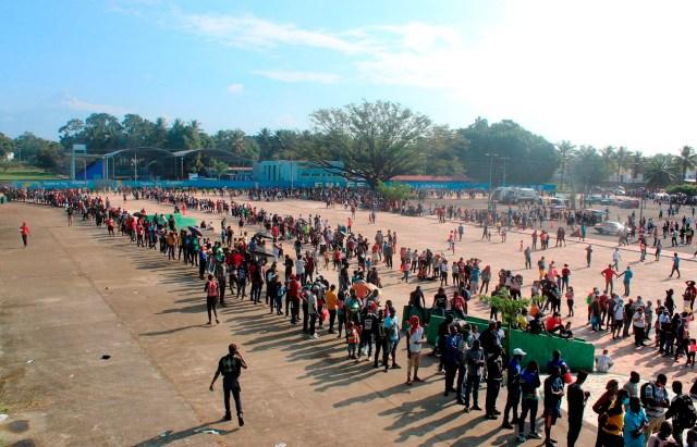 cinco mil migrantes solicitan asilo