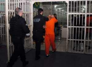 Transferência de presos - foto de Jaqueline Noceti/Secom