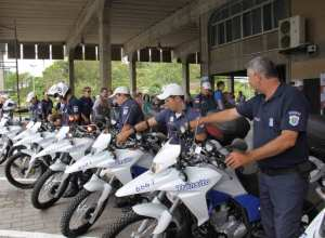 Novas motocicletas serão usadas na fiscalização e orientação de trânsito (foto de arquivo)