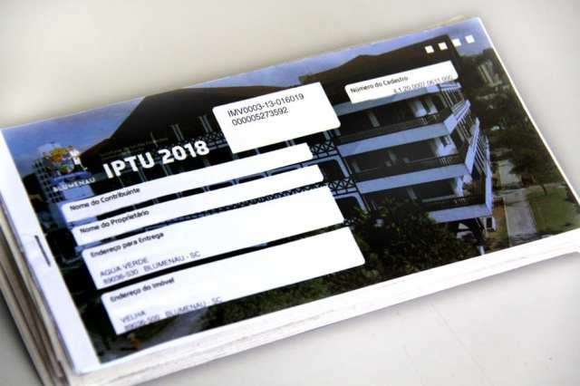 Unidade da Central do IPTU ficará instalada no Parque Vila Germânica até 13 de março (Marcelo Martins)