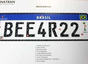 Nova placa conta com diversos dispositivos de segurança (Rodrigo Nunes/Ministério das Cidades)