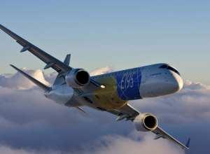 Embraer 195, um dos modelos da empresa brasileira de aviação
