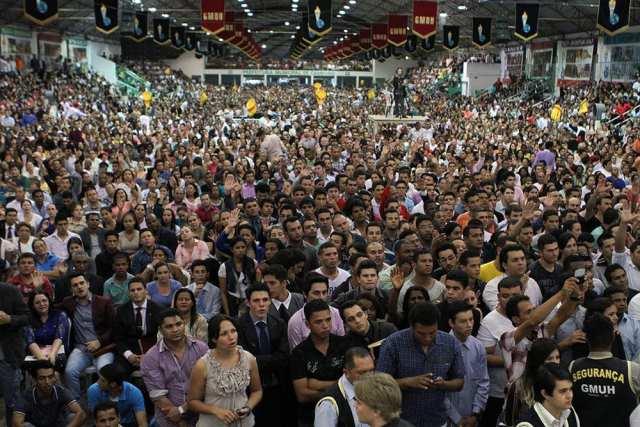 Público dos Gideões é de 100 mil pessoas anualmente - foto do GMUH