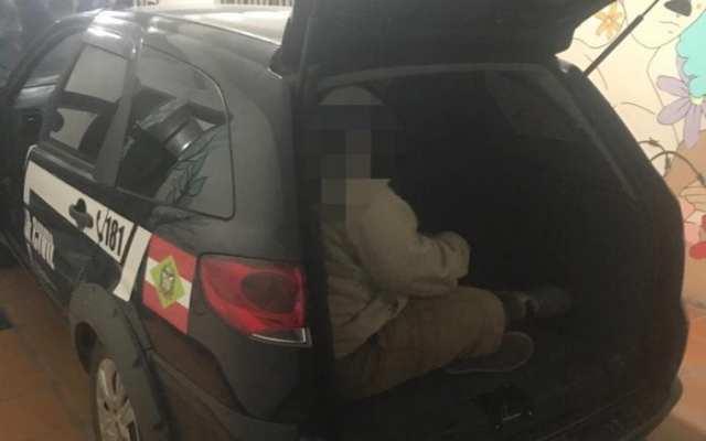 Suspeito detido pela Polícia Civil nesta terça-feira