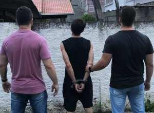 Acusado de causar explosão em agência da Itoupava Central é preso - foto da Polícia Civil