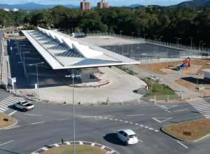 Terminal Norte, na Itoupava Central - foto da Prefeitura de Blumenau