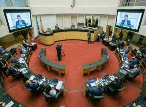 Sessão do tribunal especial durou aproximadamente 15 horas e terminou na madrugada de sábado (24) - foto de Rodolfo Espínola/Agência AL