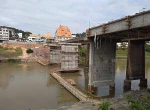 Obras de duplicação da Ponte do Centro