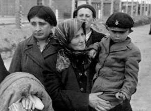 Prisioneiros de campo de extermínio